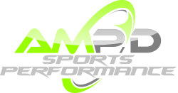 AMP'D Sports Performance Logo